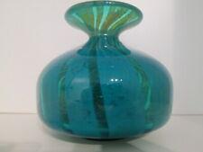 Mdina Studio/Art Glass 'MING' Raised Foot Globe Vase  Michael Harris Malta