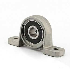 12mm Pillow Block Bearings Flange Bore Auto Self Adjust Center Mounted Support