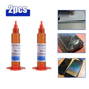 2Pcs Adhesive Glue Cell Phone Repair Tool for Touch Screen Repair Glue Liquid