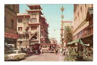 Chinatown San Francisco California Unused Vintage Postcard AF14