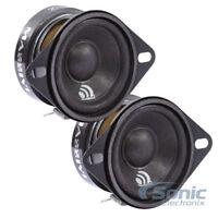 "MASSIVE AUDIO 80W 2"" MX Series Coaxial Midrange Car Speakers | MX2"