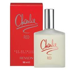 CHARLIE RED de REVLON pour Femme Eau de Toilette 100ml  +1 Échantillon