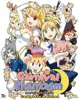 TYPE MOON Carnival Phantasm Complete Edition 2 Blu-ray Japan Fate Prototype USED