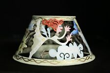 Karen Rossi Pierced ANGELS Candle Lamp Shade Silvestri