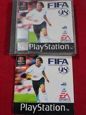 FIFA 98 PLAYSTATION 1 FIFA EN ROUTE POUR LA COUPE DU MONDE 98 PS1 PS2 PS3