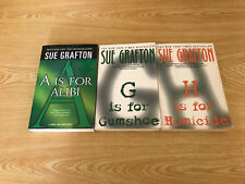 Lot Of 3 Kinsey Millhone by Sue Grafton - A,G,H   TPB
