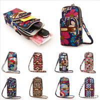 Multi-color Small Cross Body Purse for Women Girls Key Cell Phone Shoulder Bag
