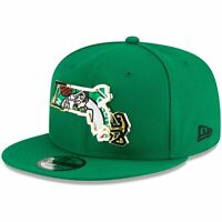 Boston Celtics New Era Metal & Thread 9FIFTY Adjustable Hat - Kelly Green