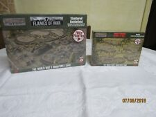 2 Battlefield in a Box - Flames of War Craters & Shattered Battlefield New