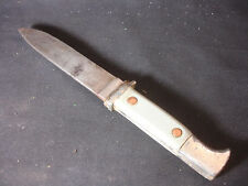 Old Vtg Collectible PIC Solingen Germany Fixed Blade Fighting Knife