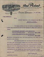 DRESDEN-LAUBEGAST, Brief 1926, Fabrik chemisch-technischer Produkte
