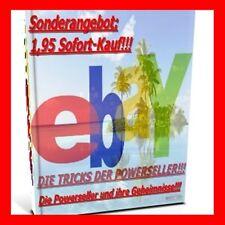 EBAY POWER SELLER - DIE TRICKS GEHEIMNISSE E-Book Powerseller E-Lizenz Ebook NEU