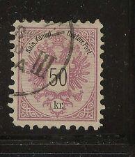 Austria 46 used catalog $80.00 a002