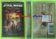 MC STAR WARS EPISODIO I 1999 SIGILLATA SEALED SOUNDTRACK WILLIAMS cd lp dvd vhs