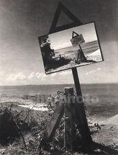1930 Original CEYLON Sri Lanka SURREAL SEASCAPE BEACH Photo Gravure LIONEL WENDT