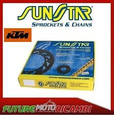 KIT CATENA CORONA PIGNONE SUNSTAR KTM 450 EXC 2005 2006 CHAINS SPROCKETS