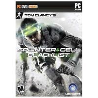 Tom Clancy's Splinter Cell Blacklist Brand New Original Game For PC