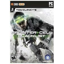 Tom Clancy's Splinter Cell Blacklist Brand New Original Game For PC