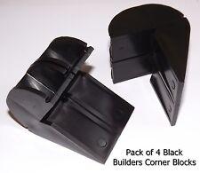 4 x Brickies Builders L Shaped Corner Blocks For Brick Line Laying FREE P&P