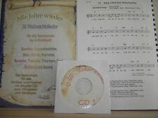 30 Weihnachtslieder für Keyboard  - Noten + Begleit-CDs