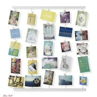 Photo Display Hangit Picture Frames Collage Set Wire Natural Wood Accessories