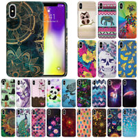 """For Apple iPhone XS Max 6.5"""" Design Hard Back Case Cover Protector"""