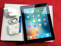 Apple iPad 3rd Gen 32GB WiFi+Cellular (3G/4G) Retina UNLOCKED, Black +EXTRAS