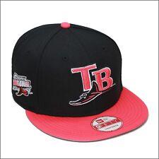 9ff0c5fff2f6 New Era Tampa Bay Rays Snapback Hat Cap Black Infrared