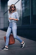 RE/fatto LEVI'S HIGH-RISE Raw Edge Denim Jeans W25 UK 6/8