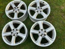 "4X GENUINE AUDI A4 A3 S3 VW GOLF MK5 MK6 TOURAN CADDY PASSAT 17"" ALLOYS WHEELS"