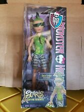 MONSTER HIGH DEUCE GORGON SCARIS CITY OF FRIGHTS DOLL