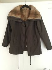 Bel Air Parka Coat With Fur Collar 1 S
