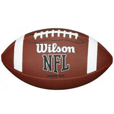Wilson 2018 Junior NFL JR Bin XB American Football - Mini Size - Tan - One Size