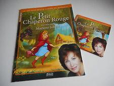 LE PETIT CHAPERON ROUGE raconté par MARLENE JOBERT - LIVRE + CD