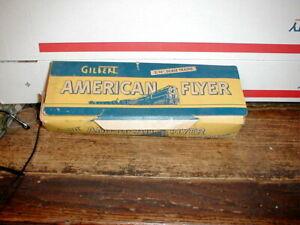 "VTG AMERICAN FLYER GILBERT 3/16"" SCALE TRAIN STRAIGHT TRACK 700 &CURVE TRACK 702"