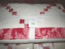 Pottery Barn Jersey Silk Comforter Bed Quilt KING CAL 2 shams tufted IVORY NIP