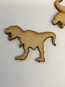 MDF Dinosaur A 4cm, 5cm - Laser cut wooden shape