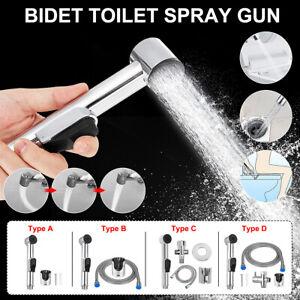 ABS Toilet Douche Bidet Shower Head Sprayer Sprinkler Handheld Wash Hose Pipe *