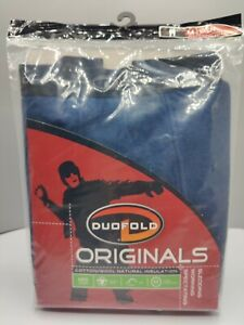 Duofold Men's Originals Mid Weight Two Layer Base Layer Pants Blue - Medium