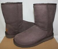 UGG Women's Classic Short II Chocolate Brown Suede boots 1016223 New With Box!