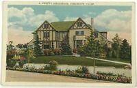 Piedmont California 1900's Pretty Residence CA Vintage Postcard Street View