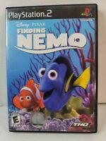Finding Nemo PS2 Disney Pixar CIB W/Manual Playstation Game Tested
