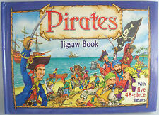 Pirates Jigsaw Book 2006 by Niki Horin  The Five Mile Press Hardcover Puzzle
