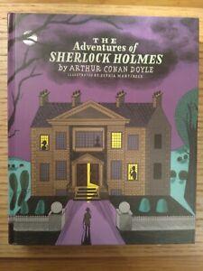 The Adventures Of SHERLOCK HOLMES By Arthur Conan Doyle. Hardback... illustrated