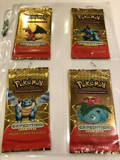 4 X Pokemon Sealed Booster Packs Italian Expedition All 4 Arts