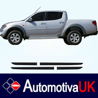 Mitsubishi L200 Rubbing Strips | Door Protectors | Side Protection Mouldings Kit