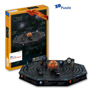 Adventures of the Solar System 3D Puzzle Jigsaw Model Space Planets