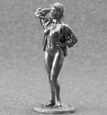 Sexy Girl Toy Tin Soldier 1/32 Erotic Nude Lady 54mm Metal Naked Female