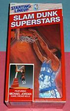 NM+ 1989 MICHAEL JORDAN Chicago Bulls Slam Dunk Starting Lineup Superstars
