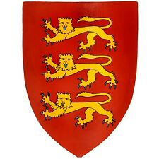 More details for medieval edward the first shield / three lions / replica the first shield